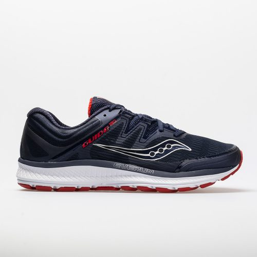 Saucony Guide ISO: Saucony Men's Running Shoes Navy/Red