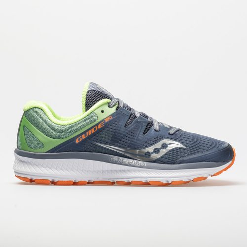Saucony Guide ISO: Saucony Women's Running Shoes Grey/Mint/Orange