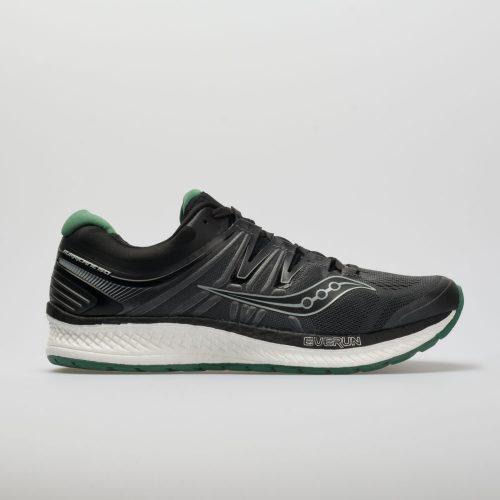 Saucony Hurricane ISO 4: Saucony Men's Running Shoes Black/Grey/Green