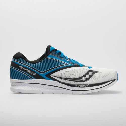 Saucony Kinvara 9: Saucony Men's Running Shoes White/Blue/Black
