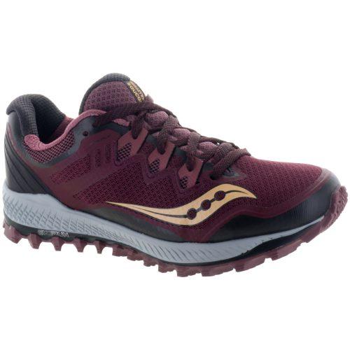 Saucony Peregrine 8: Saucony Women's Running Shoes Wine/Peach
