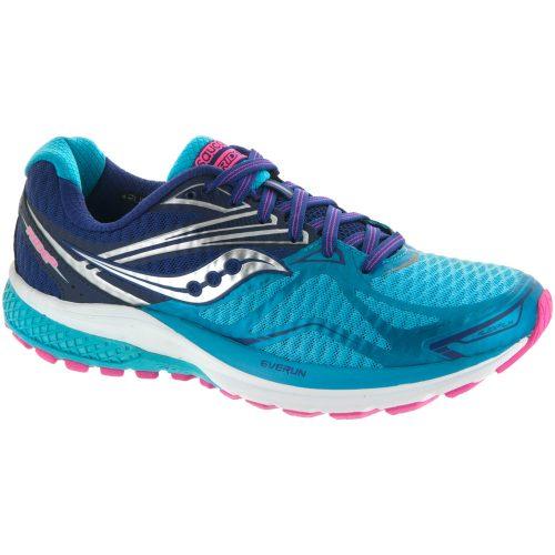 Saucony Ride 9: Saucony Women's Running Shoes Navy/Blue/Pink