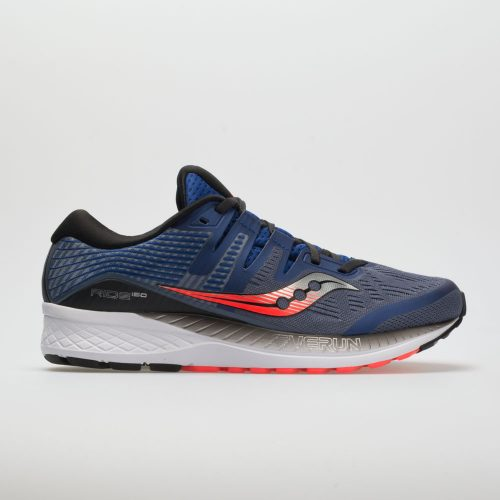 Saucony Ride ISO: Saucony Men's Running Shoes Grey/Blue/ViZiRed