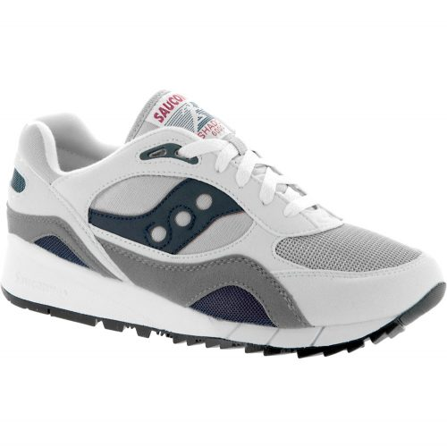 Saucony Shadow 6000: Saucony Men's Running Shoes White/Blue/Gray