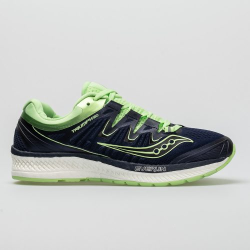 Saucony Triumph ISO 4: Saucony Women's Running Shoes Navy/Mint