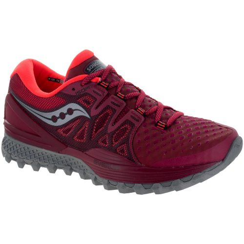 Saucony Xodus ISO 2: Saucony Women's Running Shoes Berry/Coral