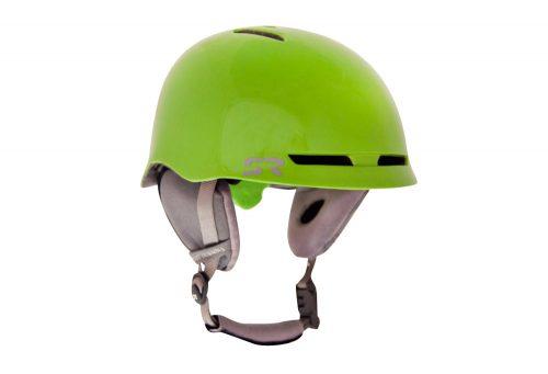 Shred Ready Forty4 Snow Helmet - flash green, small