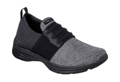 Skechers Go Walk Sport Shoes - Men's - black/grey, 10.5