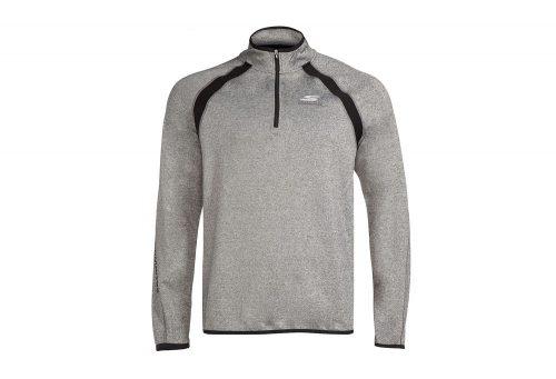 Skechers Windchill 1/4 Zip Sweatshirt - Men's - grey, medium