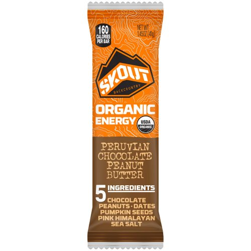 Skout Backcountry Organic Energy Bar (Box of 12): Skout Backcountry Nutrition