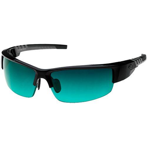 Solar Bat Leverage 25 Tennis Sunglasses Black/Gray: Solar Bat Sunglasses