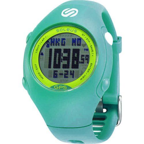 Soleus Mini GPS Teal/Lime: Soleus GPS Watches