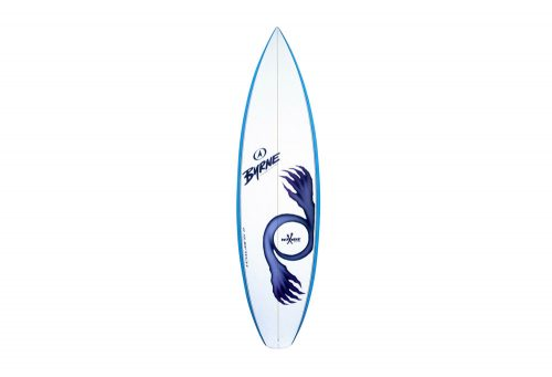 """Surftech 6'1"""" Byrne/Owen Wright O-Zone Squash Tail - white/blue, 6'1"""""""