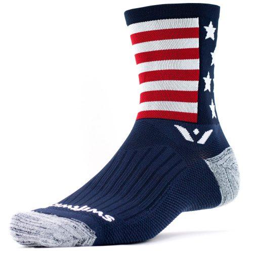 Swiftwick Vision Five Spirit American: Swiftwick Socks
