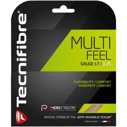 Tecnifibre Multifeel 17 1.25: Tecnifibre Tennis String Packages