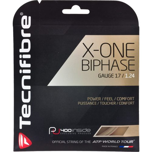 Tecnifibre X-One Biphase 17: Tecnifibre Tennis String Packages