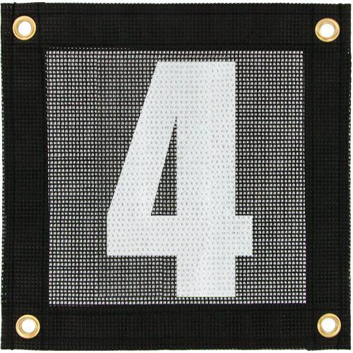 Tennis Court Numbers - Mesh: Tourna Court Equipt