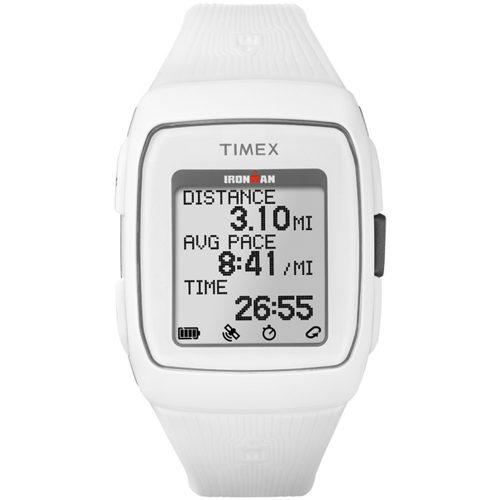 Timex Ironman GPS White/White: Timex GPS Watches