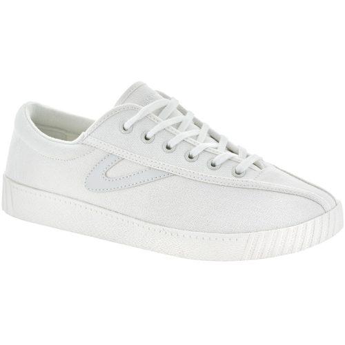 Tretorn Nylite Canvas: Tretorn Women's Tennis Shoes White/White