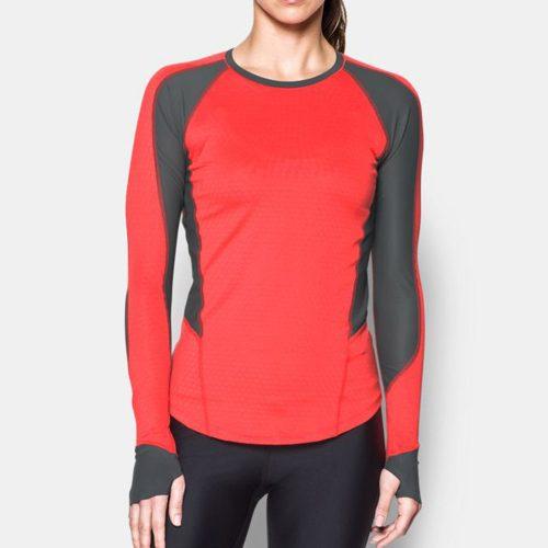 Under Armour ColdGear Reactor Run Long Sleeve Shirt: Under Armour Women's Running Apparel
