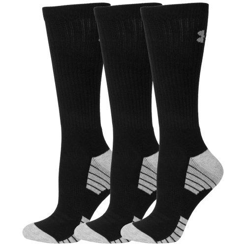 Under Armour HeatGear Tech Crew Socks 3 Pack: Under Armour Men's Socks