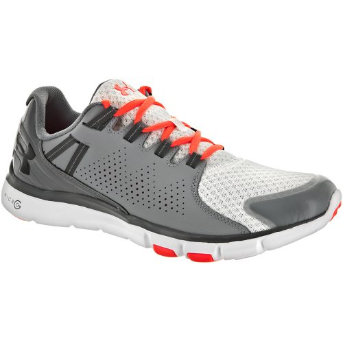 Under Armour Micro GLimitless TR: Under Armour Men's Training Shoes White/Steel/Black