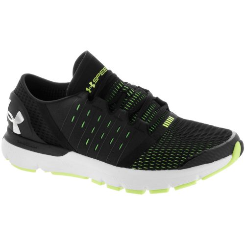 Under Armour Speedform Europa: Under Armour Men's Running Shoes Black/Quirky Lime