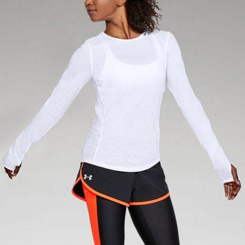 Under Armour Swyft Long Sleeve Top: Under Armour Women's Running Apparel