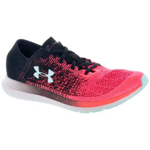 Under Armour Threadborne Blur: Under Armour Men's Running Shoes Neon Coral/Black/Tile