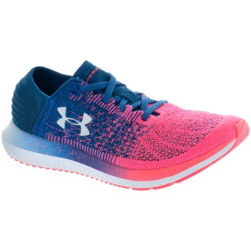 Under Armour Threadborne Blur: Under Armour Women's Running Shoes Moroccan Blue/Brilliance