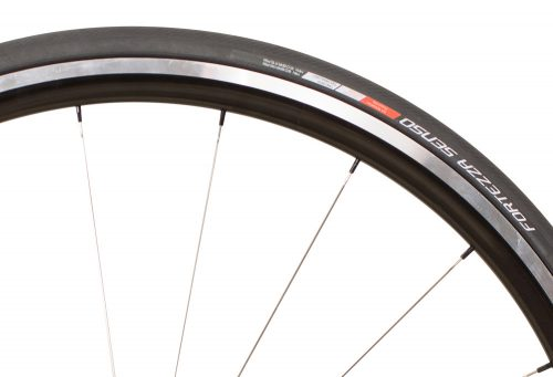 Vredestein Fortezza Senso All Weather Super Lite Tire - black, 700c x 23mm