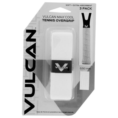 Vulcan Max Control Replacement Grip: Vulcan Tennis Replacet Grips