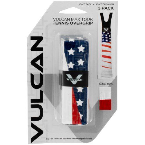 Vulcan Max Tour Overgrip 3 Pack: Vulcan Tennis Overgrips