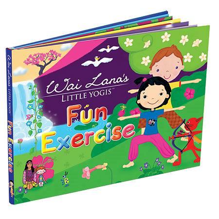 Wai Lana Little Yogis Fun Exercise Book - 1 ea.