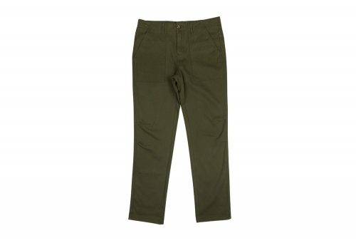 Wilder & Sons Belmont Camp Pant - Men's - olive, 34 x 34