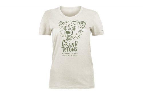 Wilder & Sons Grand Teton National Park Tee - Women's - vintage white, small