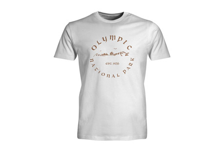 Wilder & Sons Olympic National Park Short Sleeve T-Shirt - Men's