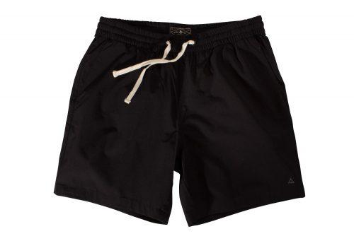 "Wilder & Sons Seaside Volley 6"" Shorts - Men's - black, small"