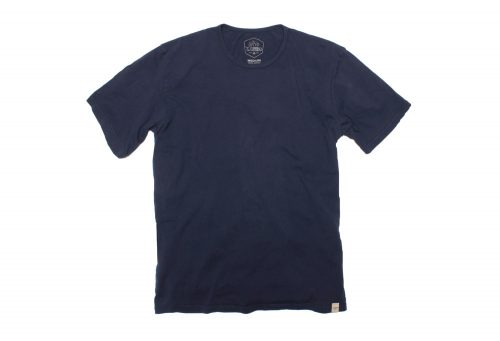 Wilder & Sons Signature Cotton Tee - Men's - navy, small