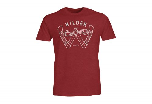 Wilder & Sons Survival Tee - Men's - red, medium