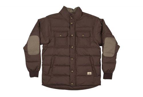 Wilder & Sons Wallowa Down Jacket - Men's - vintage brown, large