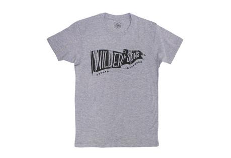 Wilder & Sons Wilder Banner T-Shirt - Men's