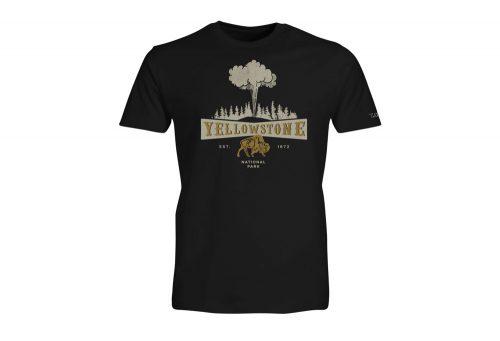 Wilder & Sons Yellowstone National Park Short Sleeve T-Shirt - Men's - black, small
