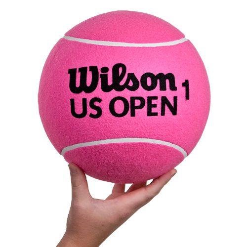 "Wilson 10"" US Open Jumbo Tennis Ball Pink: Wilson Tennis Gifts & Novelties"
