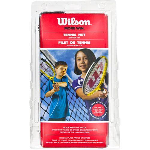 Wilson 20' Tennis Net with 10' Ropes: Wilson Tennis Nets & Accessories