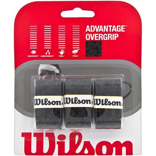 Wilson Advantage Overgrip 3 Pack: Wilson Tennis Overgrips