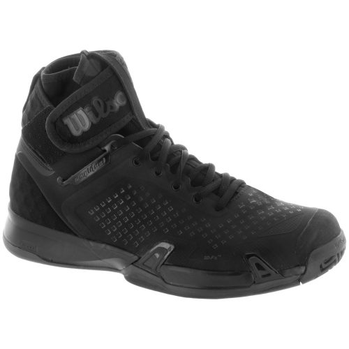 Wilson Amplifeel: Wilson Men's Tennis Shoes Black/Black/Ebony