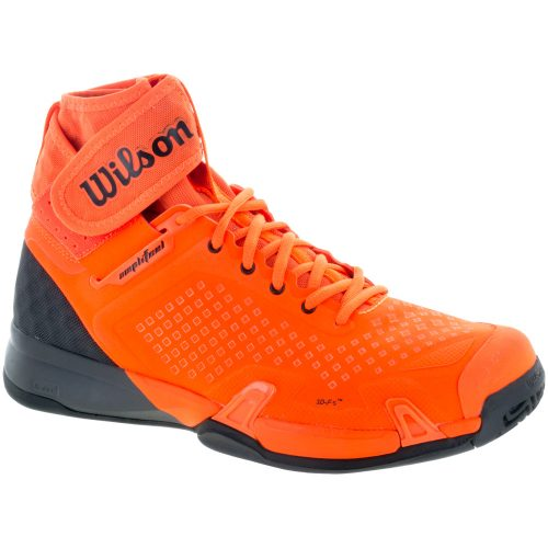 Wilson Amplifeel: Wilson Men's Tennis Shoes Shocking Orange/Magnet/Black