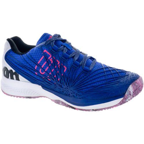 Wilson Kaos 2.0: Wilson Men's Tennis Shoes Dazzling Blue/White/Neon Red