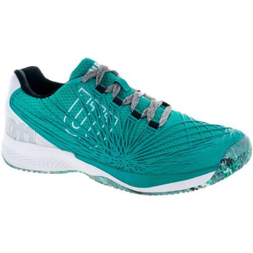 Wilson Kaos 2.0: Wilson Men's Tennis Shoes Tropical Green/White/Black